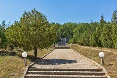 Fästning av den bulgariska tsar Samuel nära by av Kliuch, Blagoevgrad region, bulgariska Royaltyfria Bilder