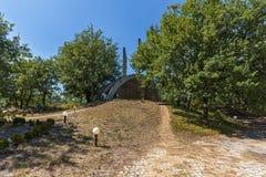 Fästning av den bulgariska tsar Samuel nära by av Kliuch, Blagoevgrad region, bulgariska Royaltyfri Bild