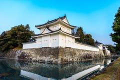 Fästning av den Nijo slotten, Kyoto Japan Royaltyfri Foto