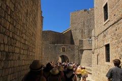 Fästning av Dubrovnik Arkivfoton