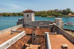 Fästning Castillo de San Felipe de Lara arkivfoto