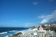 Fästning för El Morro i San Juan Royaltyfri Foto