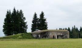 Fästning för Pechotni srubNa Holem Arkivfoto