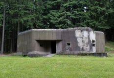 Fästning för Pechotni srubPechotni srub R-S 72 Nizka från världskrig II Arkivbild