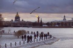 Fästning för Peter-Pavel ` s arkivfoto