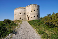 Fästning från det 18th århundradet Arkivfoton