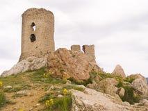 fästning gammala genoa Arkivbild