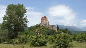 Fästning Gremi, Georgia, Europa Royaltyfri Fotografi