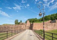 Fästning i Belfort Arkivbild