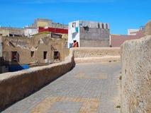 Fästning i El Jadida i Marocko Fotografering för Bildbyråer