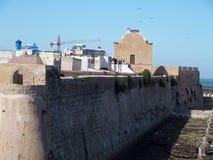 Fästning i El Jadida i Marocko Arkivbild