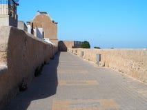 Fästning i El Jadida i Marocko Royaltyfri Fotografi