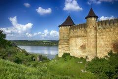 Fästning i Kamenetsen-Podolsk Hotin Royaltyfri Fotografi