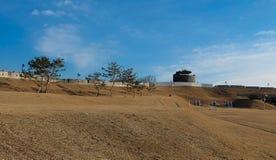 Fästning i Korea Arkivbild