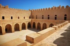 Fästning i Sousse, Tunisien Arkivbilder