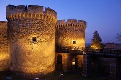 Fästning Kalemegdan, Beldrad, Serbien royaltyfri fotografi