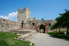 Fästning Kalemegdan i Belgrade royaltyfria bilder
