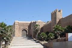 Fästning - Kasbah Udaya rabatt morocco Royaltyfri Bild