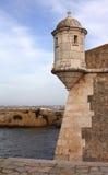 fästning lagos portugal Royaltyfria Bilder