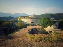 Fästning Mamula Fotografering för Bildbyråer