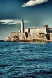 Fästning och fyr Arkivbild