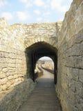 Fästning Ovech, Bulgarien Arkivbilder