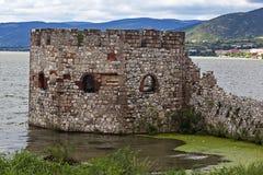 Fästning på floden 1 Arkivbilder
