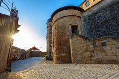 Fästning Rosenberg - Kronach Arkivfoto