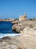 Fästning Sanktt Nicholas, Ciutadella, Menorca Fotografering för Bildbyråer