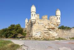 Fästning Yenikale Kerch crimea fotografering för bildbyråer