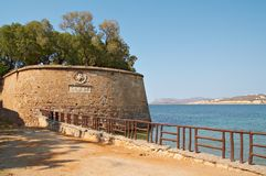 fästningen återstår Royaltyfria Bilder