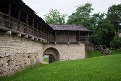 Fästningen av en Okolnyy stad Arkivfoton