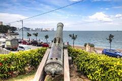 Fästningen av Penang, Malaysia Arkivfoto