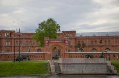 Fästningen i Petersburg arkitektur Arkivfoton