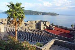 Fästningen Kanli Kula i Herceg Novi Arkivfoto