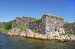 fästninghavssuomenlinna sweden Royaltyfri Foto