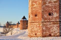 fästningkloster Arkivfoto
