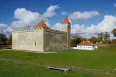 fästningkuressaare Fotografering för Bildbyråer