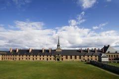 fästninglouisbourg royaltyfri bild