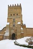 fästninglutsk ukraine arkivbilder