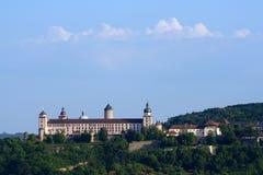 fästningmarienberg Royaltyfri Bild