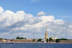 fästningpaul petropavlovskaya fotografering för bildbyråer