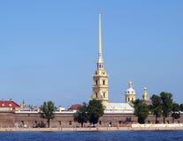 fästningpetropavlovskaya Royaltyfria Bilder