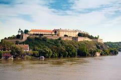 fästningpetrovaradin Arkivbild