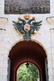 fästningportar Arkivfoto