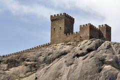 fästningsudak Royaltyfri Foto