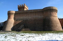 fästningurbisaglia Royaltyfri Bild