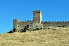 fästningvägg Arkivfoton
