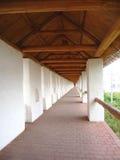 fästningvägg Arkivfoto
