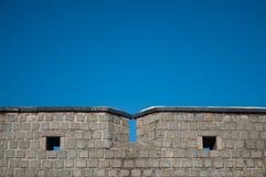 Fästningvägg Royaltyfri Bild